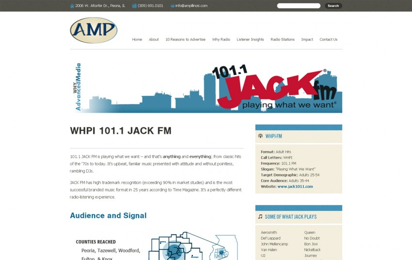 Advanced Media Partners - 101.1 JACK FM