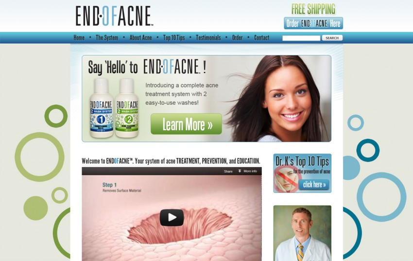 End of Acne - Home